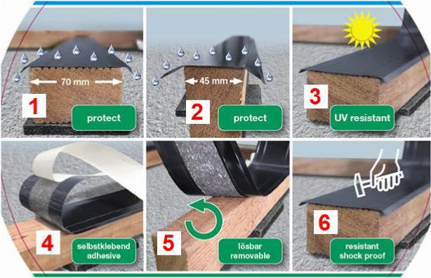 vente de bande tanch it pour lambourdes terrasse spax mdsa france. Black Bedroom Furniture Sets. Home Design Ideas