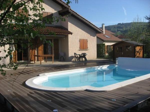 Lame terrasse en bois composite mdsa france - Lame terrasse piscine ...