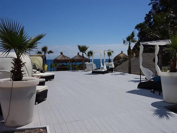 R alisations avec les lames de terrasse composite mdsa - Lame composite blanc ...