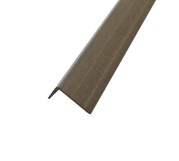 corni re de finition en bois composite gris anthracite. Black Bedroom Furniture Sets. Home Design Ideas
