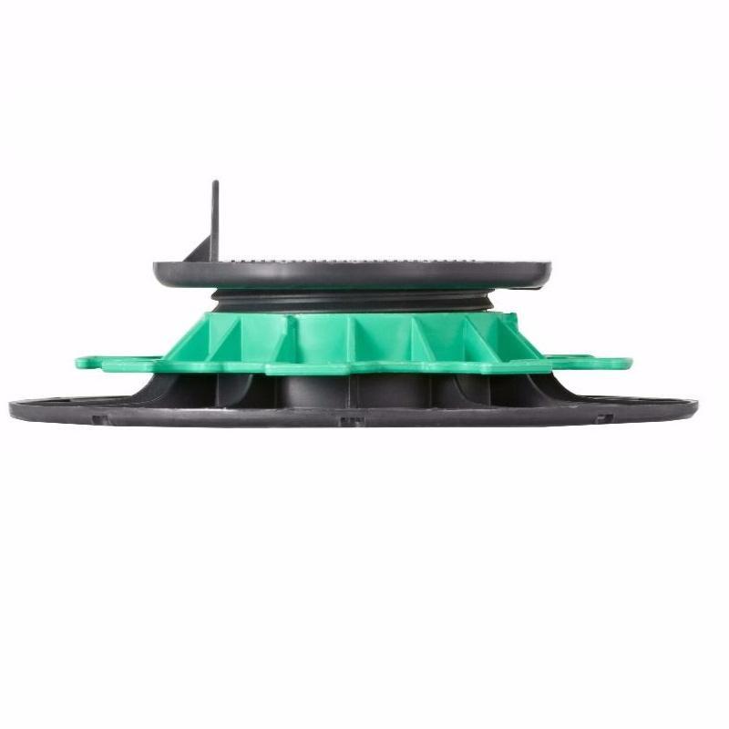 plot lambourde en pvc r glable h 40 65 mm pour terrasse. Black Bedroom Furniture Sets. Home Design Ideas