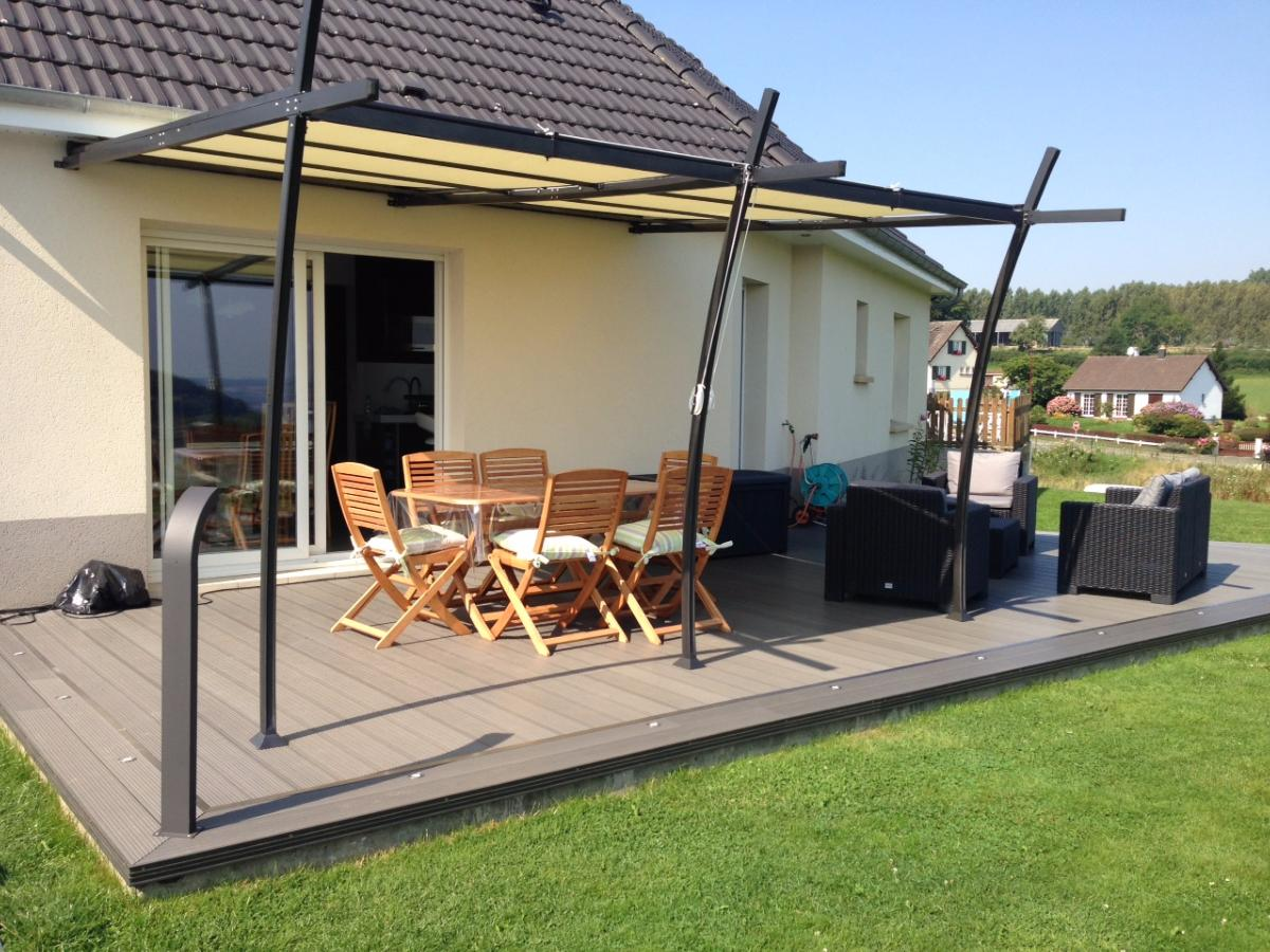 r alisations avec les lames de terrasse composite mdsa mdsa france. Black Bedroom Furniture Sets. Home Design Ideas