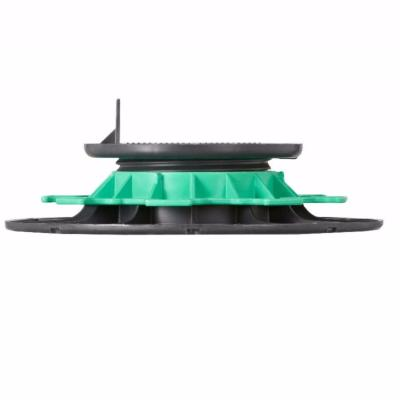 plot lambourde en pvc r glable h 40 65 mm pour terrasse bois mdsa france. Black Bedroom Furniture Sets. Home Design Ideas