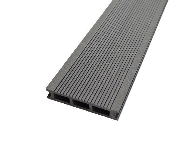 Lame de terrasse en bois composite  Gris Anthracite ( 261403000 mm