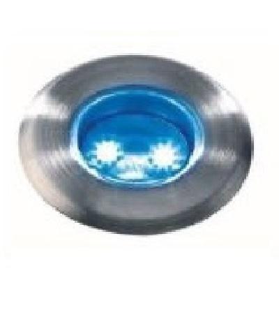 Spot encastrer astrum bleu de faible hauteur mdsa france for Spot led terrasse piscine