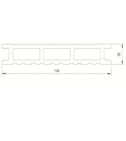 kit terrasse bois composite marron chocolat mdsa france. Black Bedroom Furniture Sets. Home Design Ideas